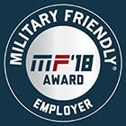 Military Friendly Employer Award 2018