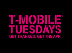 T-MOBILE TUESDAYS. Get thanked. Get the app.