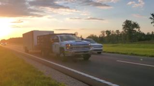 Hurricane Dorian Truck B-Roll