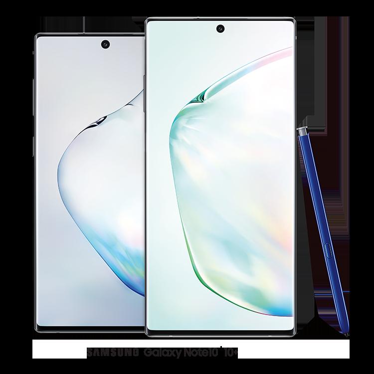 El Samsung Galaxy Note10 y el Note10+