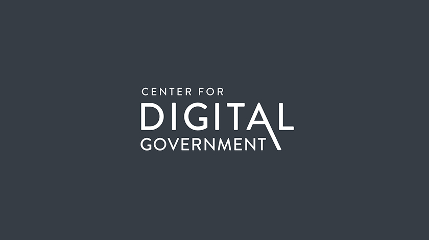 Logo for Center for Digital Government