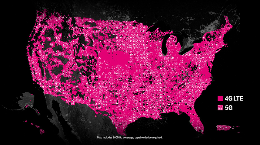 5g coverage map