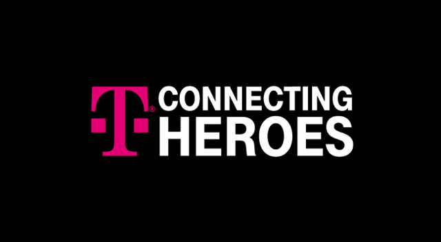T-Mobile Connecting Heroes logo