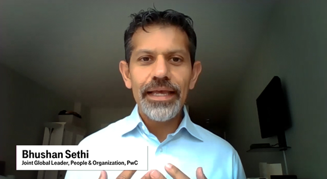 Bhushan Sethi, Joint Global Leader, People & Organization, PwC