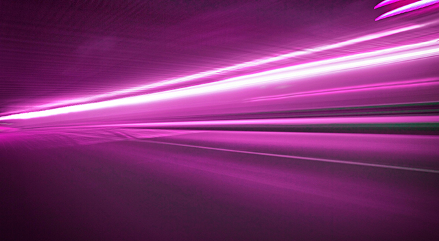 Magenta lines signifying electricity