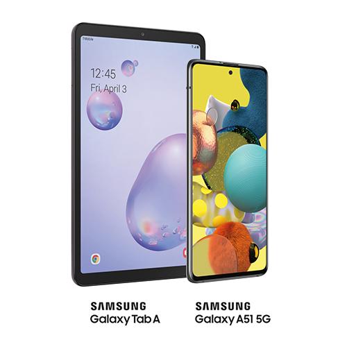 Samsung A51 5G y Tab A