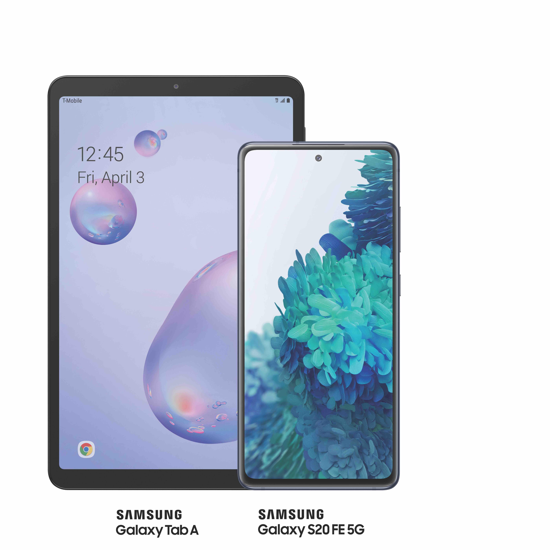 Samsung Galaxy Tab A; Samsung Galaxy A51 5G