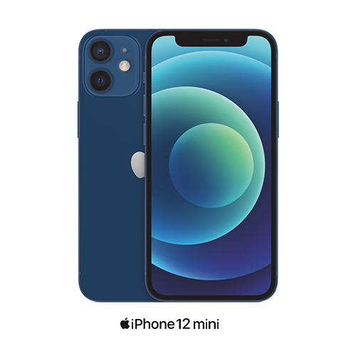 iPhone 12 mini in blue