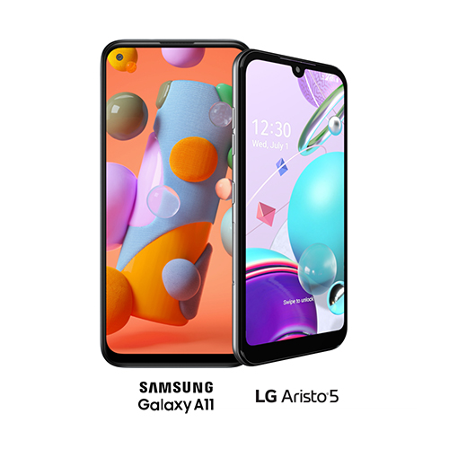 LG Aristo 5 and Samsung Galaxy A11