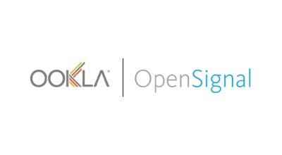OpenSignal logo on a blue background.