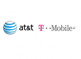 T-Mobile and AT&T logos