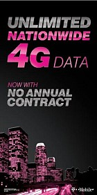 Unlimited Nationwide 4G Data Now With No Annual Contract