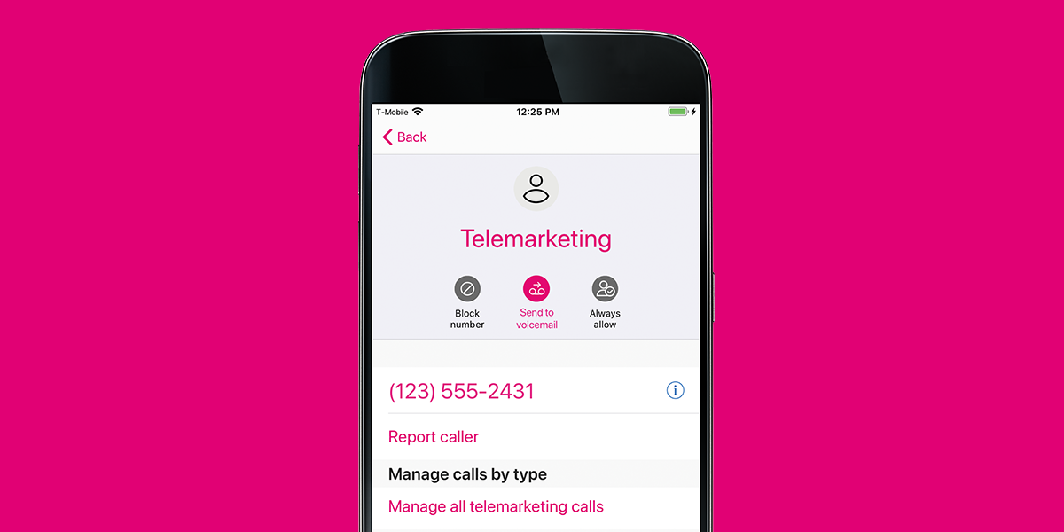 Stop Robocalls With New T Mobile Name Id App T Mobile Newsroom