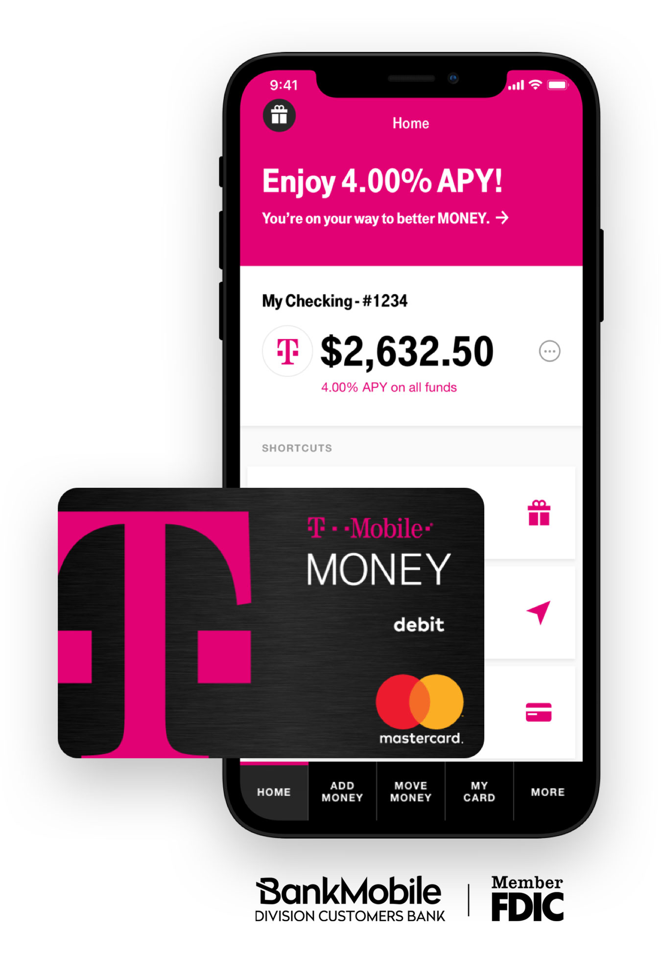 Bye Big Banks Hello T Mobile Money Introducing Your No Fee Interest Earning Mobile First Checking Account T Mobile Newsroom