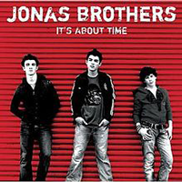 Jonas Brothers It's About Time album cover