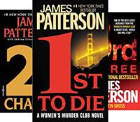 Murder Club book covers
