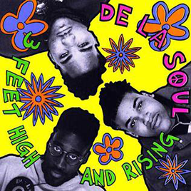 De La Soul: 3 Feet High and Rising album cover