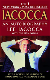 Iacocca: An Autobiagraphy book cover
