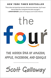 The Four by Scott Galloway book cover
