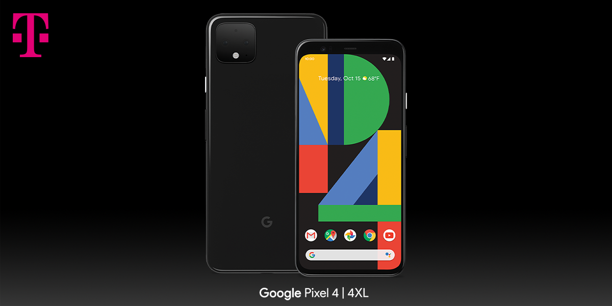 Get The Pixel 4 On Us At T Mobile The Latest Lineup Of Google Flagships Head To The Un Carrier T Mobile Newsroom