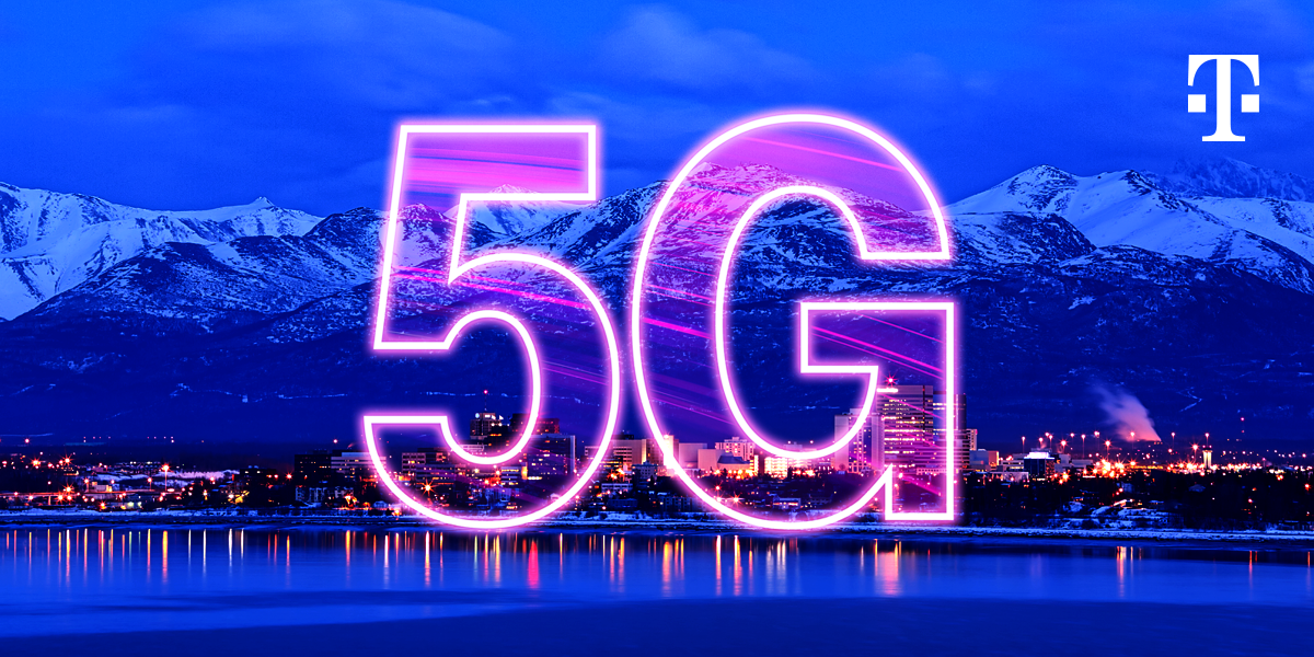 T‑Mobile is First with 5G in all 50 States! Customers Get 5G Coverage in Alaska Through GCI Partnership | T‑Mobile Newsroom