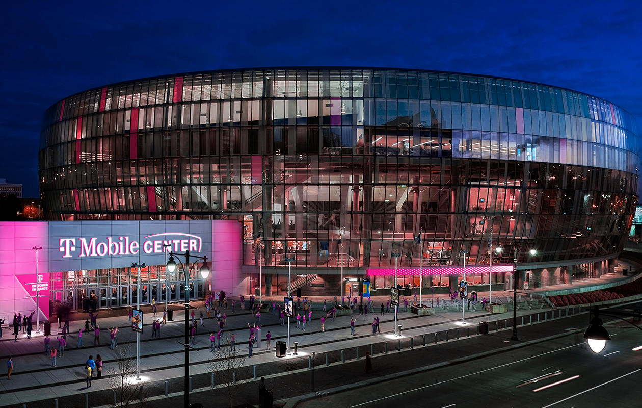 It S Official T Mobile Center To Welcome Kansas City Locals For
