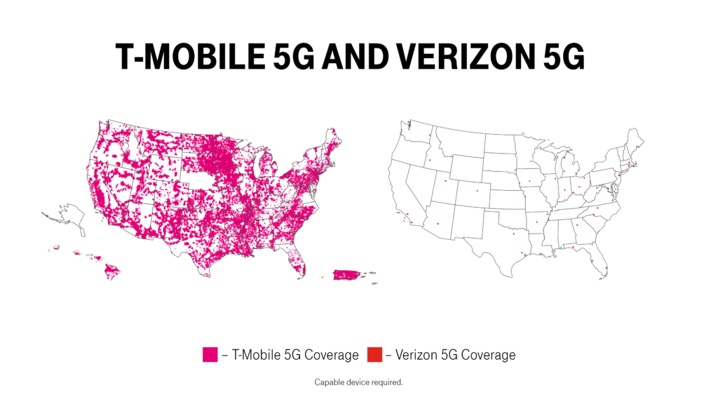 T‑Mobile Launches World's First Nationwide Standalone 5G Network