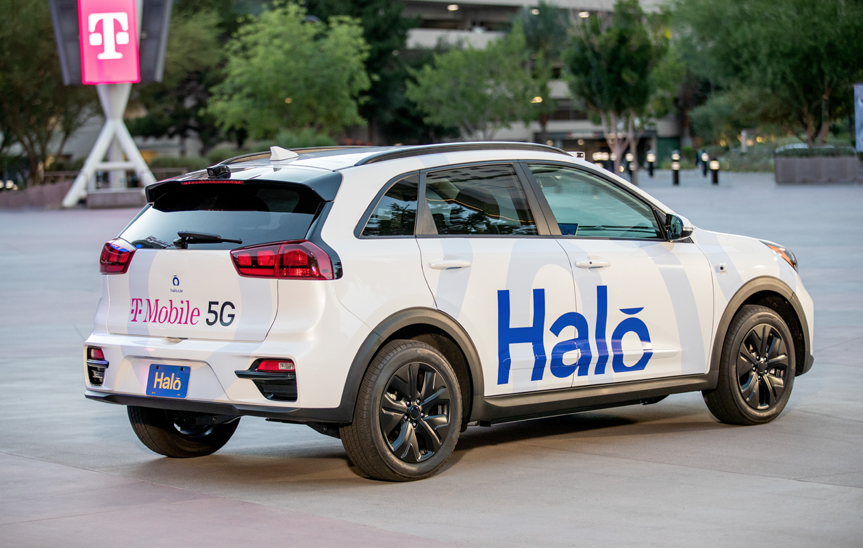 Halo and Las Vegas Launch Driverless Car Service Powered by T‑Mobile 5G | T‑Mobile Newsroom