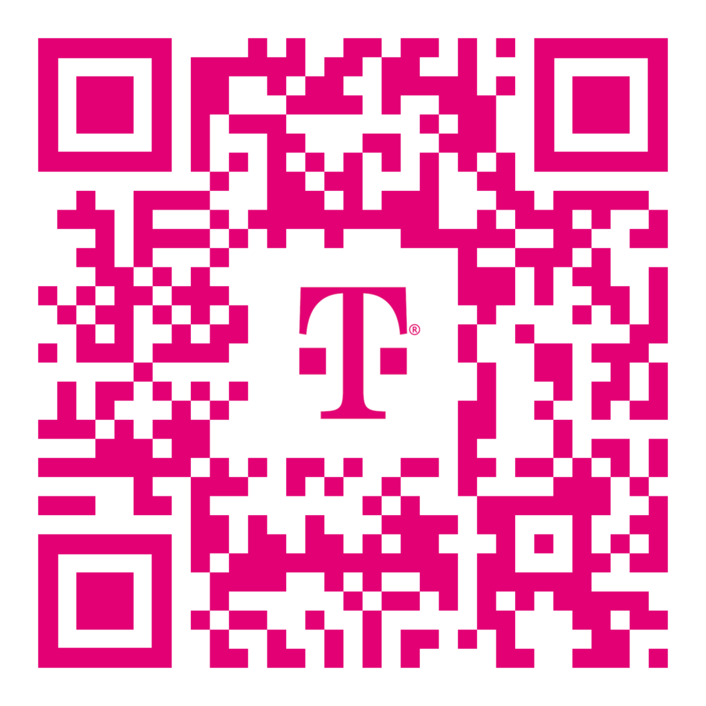 Scan the QR code to get started.