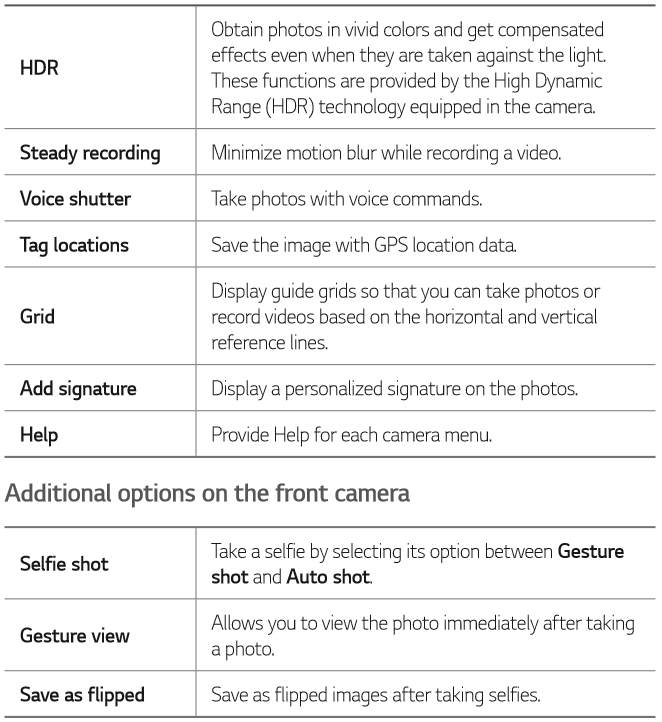 Camera Gallery Lg Stylo 4 T Mobile Support